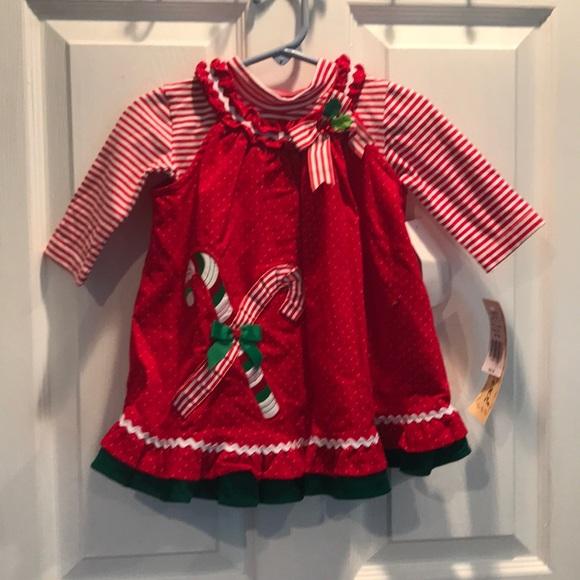 Rare Editions Christmas Dresses.Nwt Rare Editions Christmas Dress Baby Girl Nwt